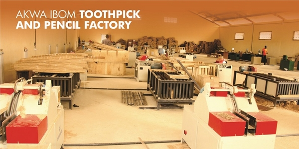 Photos: Inside Akwa Ibom Toothpick and Pencil Factory