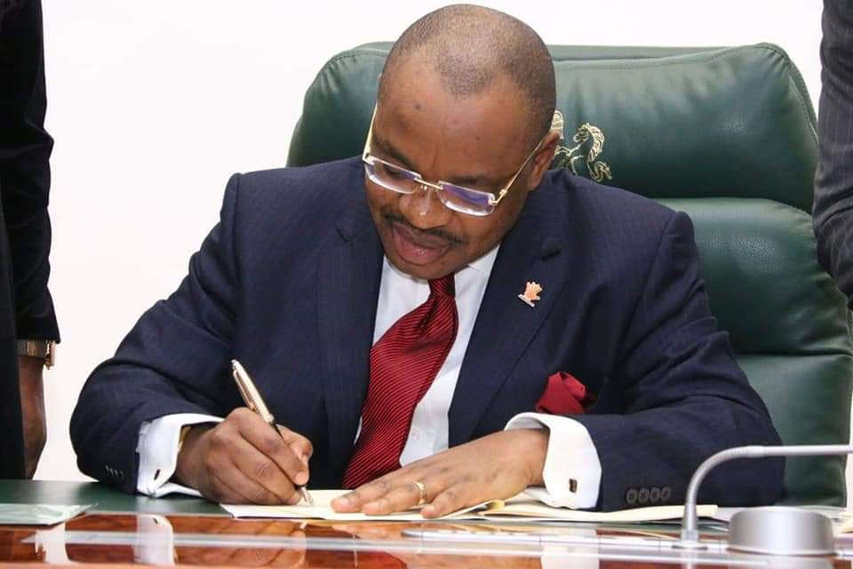 Governor Emmanuel Signs N672bn Appropriation Bill into Law