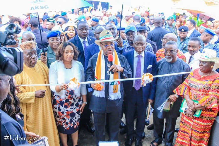 Gov Emmanuel approves recruitment of 25 new Doctors, 100 Nurses …Commissions remodeled, re-furnished, digital hospital in Oron