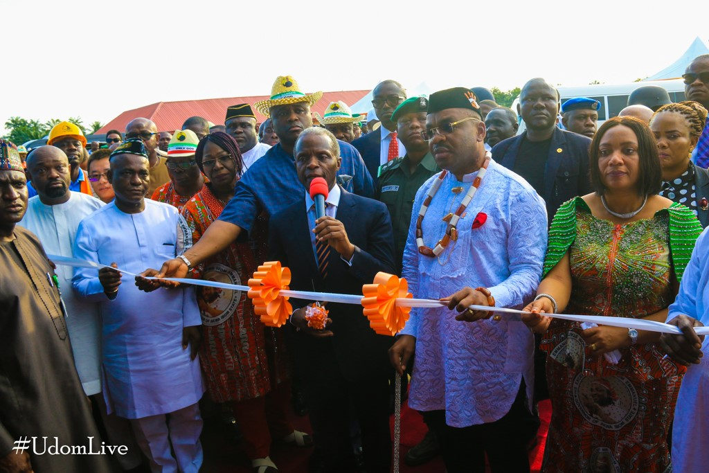 Lion Plywood Factory Commissioned by Vice President Yemi Osinbajo