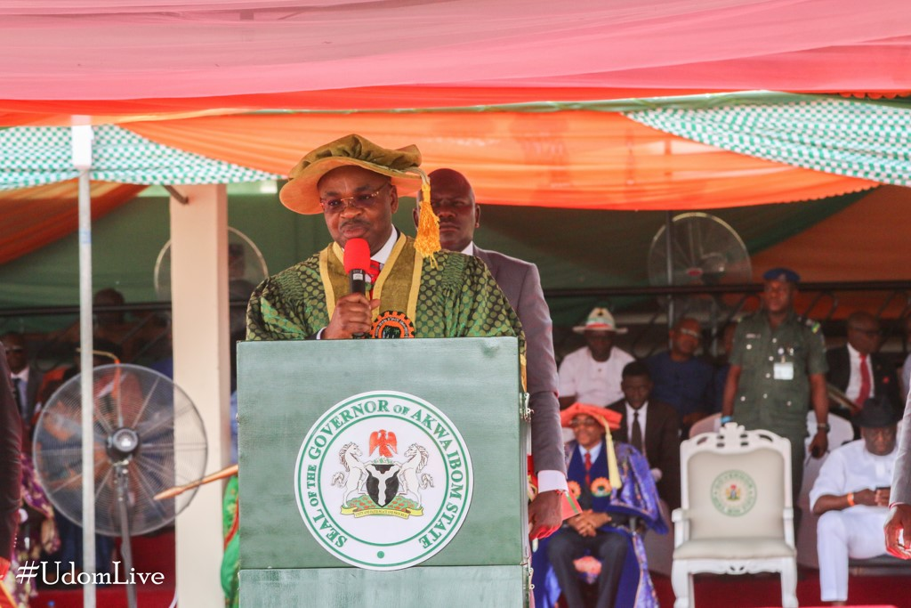 Address at the Combined 4th and 5th Convocation of the Akwa Ibom State University