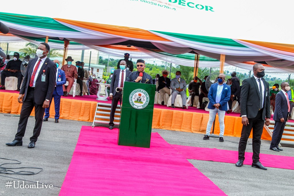 Gov. Emmanuel Unveils New Aircraft from Ibom Air