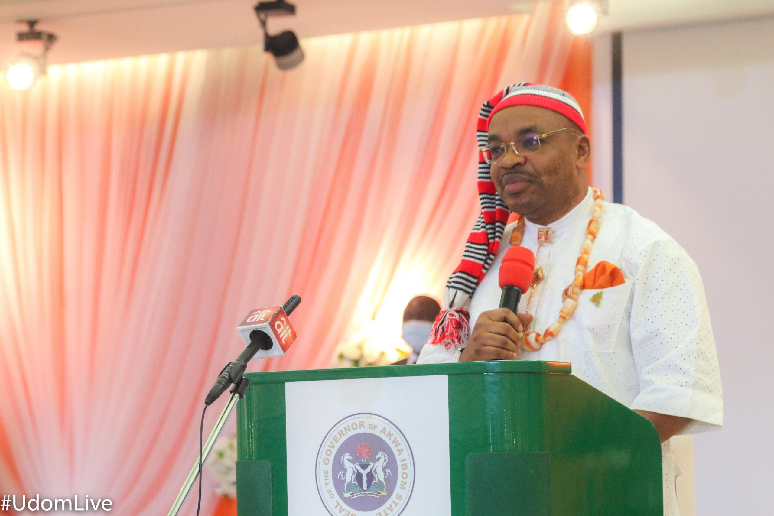 Governor Udom Emmanuel Remarks on the Launching of The State Symbols, Flag and Creed.