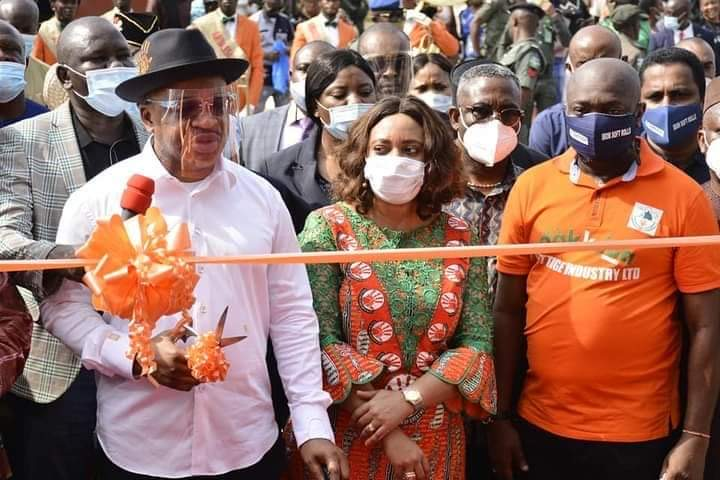 A'Ibom Government Earmarks More Trainings for Youths, Inaugurates Tissue Factory
