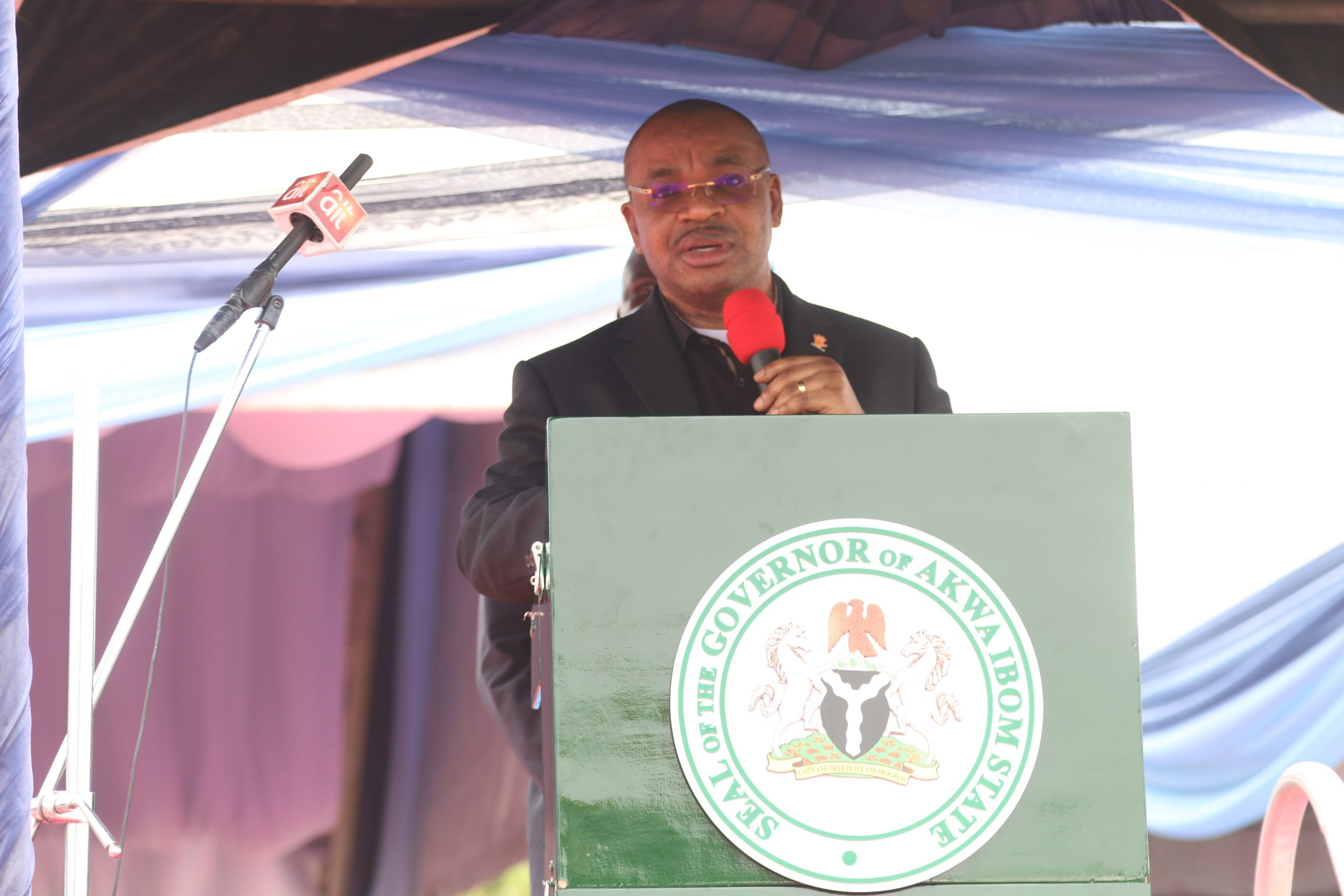 Funeral Oration by Gov Udom Emmanuel at the Funeral of Late Air Coomodore Idongesit Nkanga