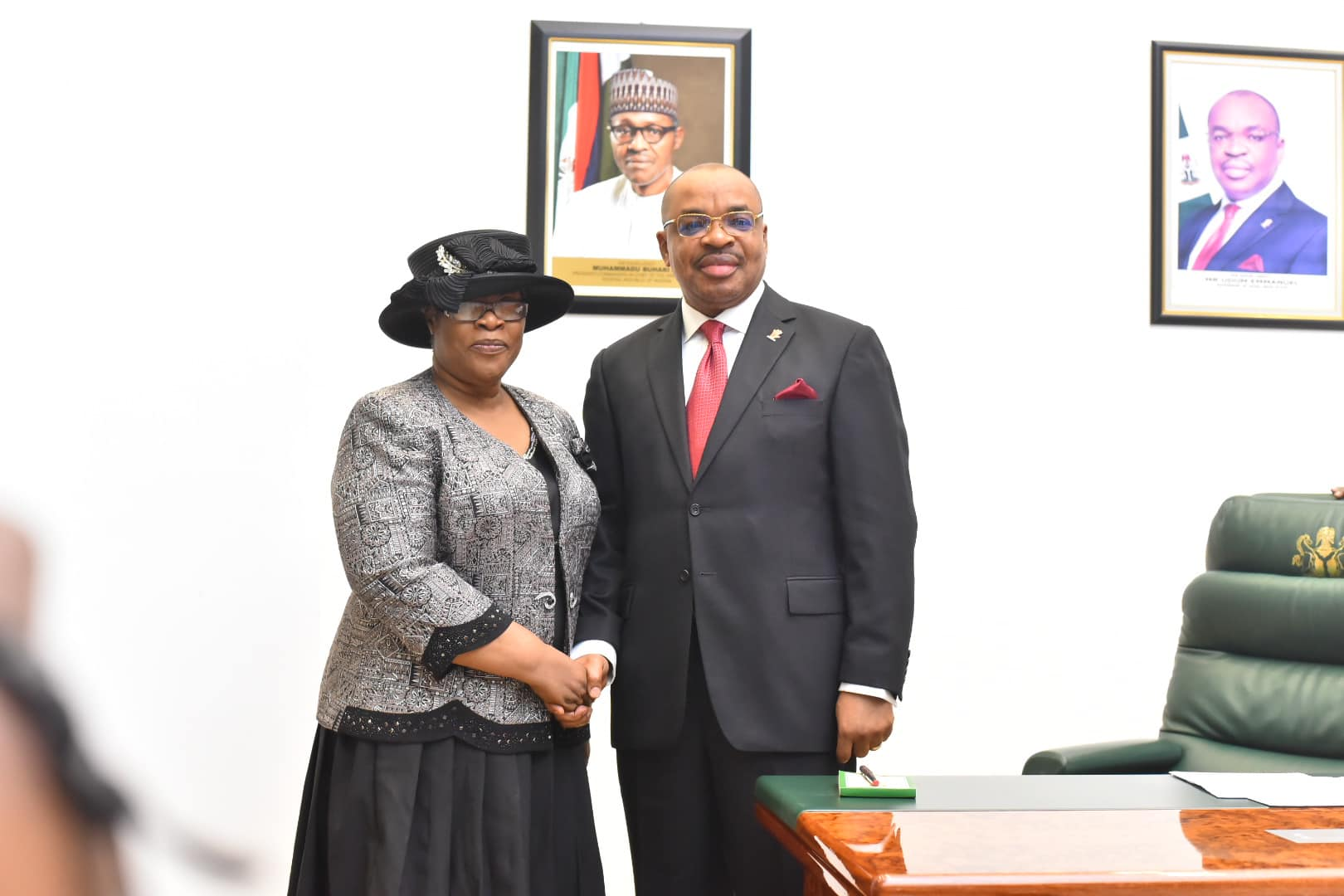 Governor Emmanuel swears in Justice Ekaette Obot as acting Chief Judge