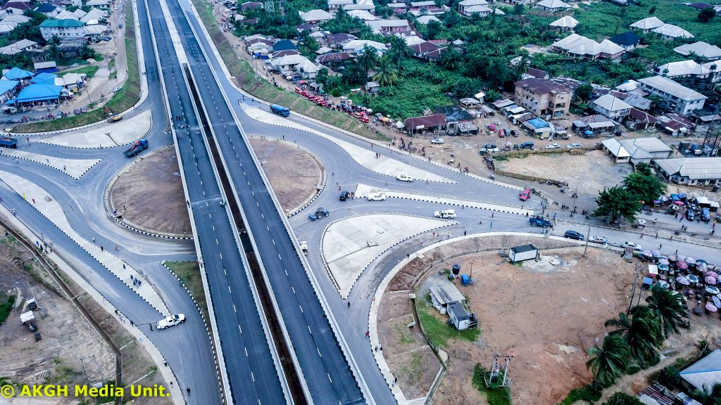 You have not disappointed me and your people – Obasanjo to Udom at Flyover Inauguration
