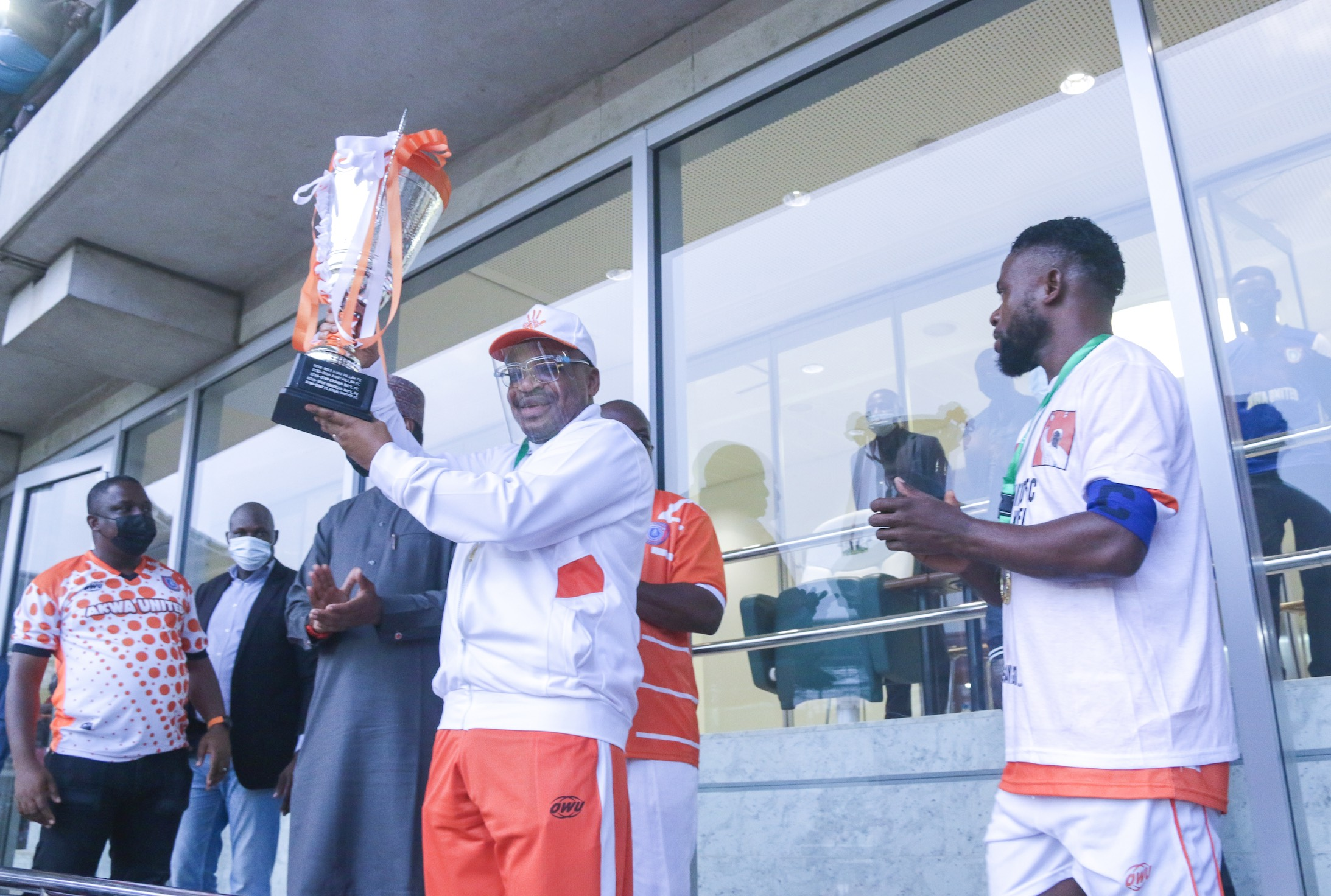 Akwa United will Conquer Africa in the Continental Tournament - Gov Emmanuel